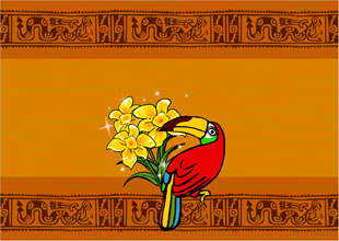 Three Golden Flowers