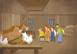 The Wishing Well 14: Stuck in the Barn