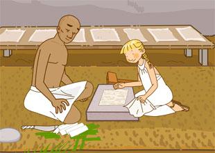 Photo Travels 6: Making Papyrus