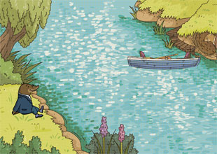 The Wind in the Willows 2: Boating with Water Rat