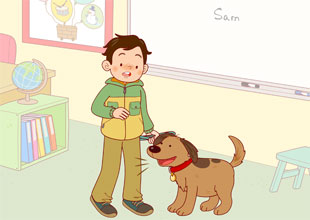 Sam and Lucky 10: Lucky Acts Up