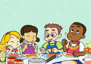 Fun at Kids Central 18: Simple Spaghetti