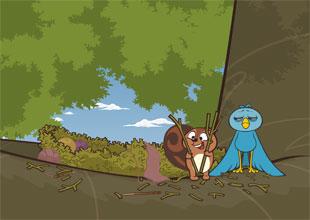 Bird and Kip 5: Fixing Bird's Nest