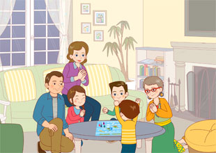 The Carter Family 1: Game Night