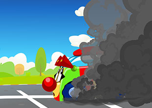 Tire Town School 19: Black Smoke