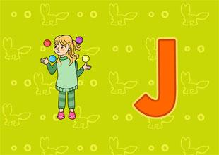 Letter Jj