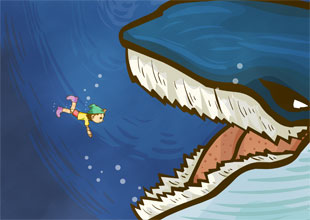 The Adventures of Pinocchio 16: The Belly of a Whale