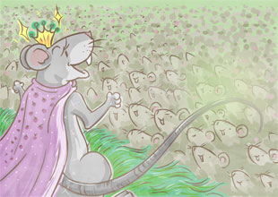 The Wonderful Wizard of Oz 6: Queen of the Field Mice