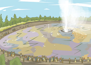Geysers and Hot Springs