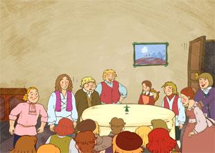 Gulliver's Travels 17: Gulliver on Show