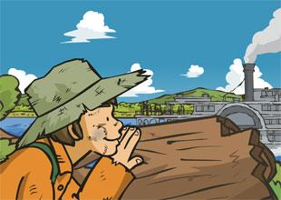 The Adventures of Huckleberry Finn 5: A Scare on Jackson's Island