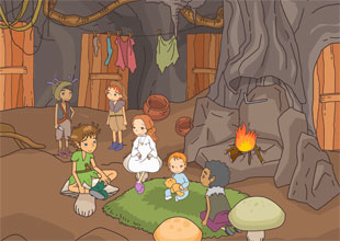Peter Pan 13: The Underground Home