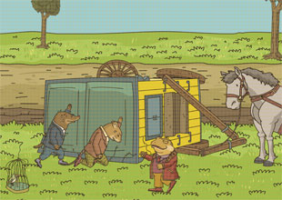 The Wind in the Willows 13: Vroom!