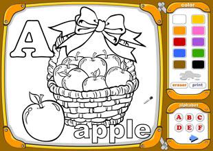 Alphabet Coloring