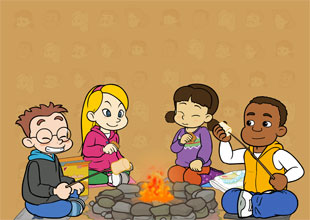 Fun at Kids Central 4: A Nice Day for S'mores