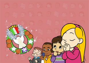 Fun at Kids Central 8: The Holiday Wreath Angel
