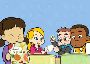 Fun at Kids Central 13: A Fruit Picnic