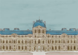 Our World Landmarks 2: The Louvre