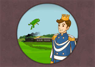 'br,' 'dr' words: A Frog, a Prince, a Train