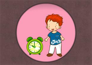 '_ck' words: Jack's Clock