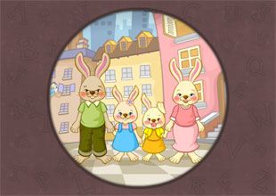 '_y' words: The Bunny Family
