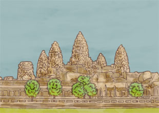 Our World Landmarks 8: Angkor Wat