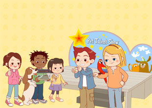 The Pet Lovers Club 4: The Pet Talent Show