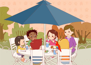 The Pet Lovers Club 8: Time to Eat!