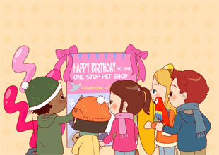 The Pet Lovers Club 17: Happy Birthday!