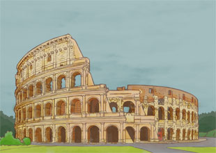 Our World Landmarks 17: The Colosseum