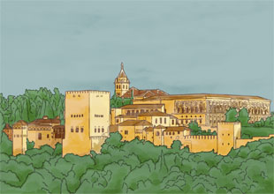 15. The Alhambra