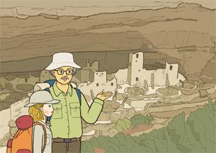 Grandpa's World History 15: Discovering the Pueblos