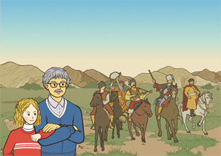 Grandpa's World History 20: Early Days on the Wild Steppes of Russia