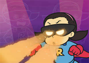 Rocket Girl vs. Freddie Freeze 2: Heat Vision