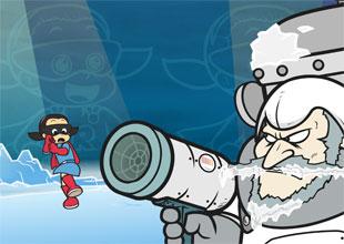 Rocket Girl vs. Freddie Freeze 3: A Slippery Slope