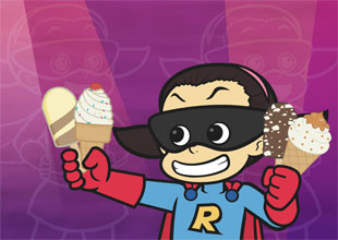 Rocket Girl vs. Freddie Freeze 4: Ice Cream!