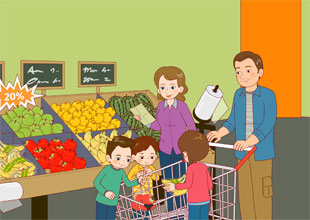 The Carter Family 5: The Grocery Store
