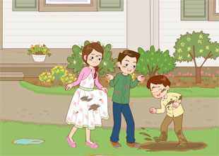 The Carter Family 6: Don't Get Dirty!