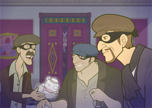 The Enchanted Castle 8: The Gang of Burglars
