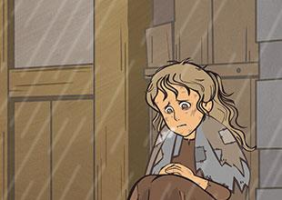 A Little Princess 16: The Beggar Girl