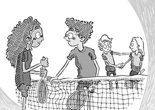 Sports Stories, Tennis, Anyone? 8: Showdown