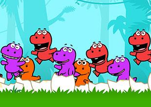 Ten Little Dinosaurs