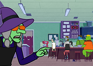 Monster Academy, The Mystery of the Crashing Brooms 2: Mrs. Hag