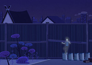 Monster Academy, The Mystery of the Crashing Brooms 6: Over the Fence