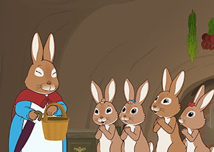 The Tale of Peter Rabbit 1: Mrs. Rabbit Goes into Town