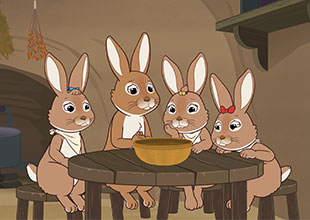 The Tale of the Hungry Bunnies 1: Hungry Bunnies