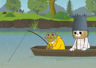Tom Kitten Goes Fishing 2: In the Boat