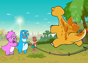 Dino Buddies 7: A Good Jumper