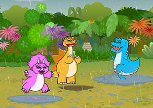 Dino Buddies 13: Fun in the Rain
