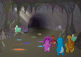 Dino Buddies 14: The Cave